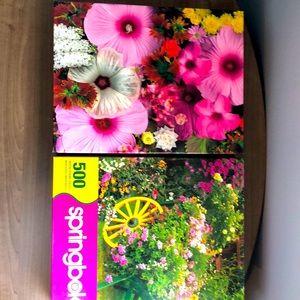 Springbok Puzzles 500 Pieces x 2